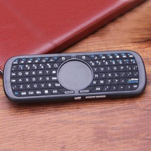 Hot Worldwide 2.4G Mini Wireless  iPazzPort Keyboard for PC Android Smart TV Box LED Light