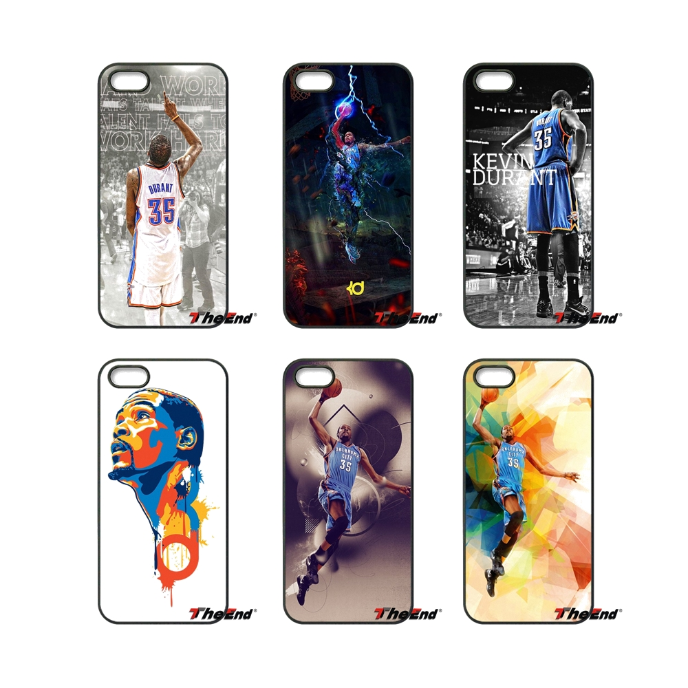 KD Kevin Durant Basketball Fans For iPod Touch iPhone 4 4S 5 5S 5C SE 6 6S 7 Plus Samung Galaxy A3 A5 J3 J5 J7 2016 2017 Case(China (Mainland))