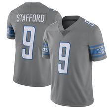 9 Matthew Stafford Jersey Men's  Adult Embroidery Stitched  2017 Color Rush Limited Jersey