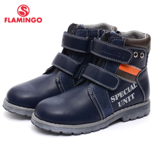 FLAMINGO 2016 new collection autumn/winter fashion kids boots high quality anti-slip kids shoes for boys 52-XB138 /52-XB139