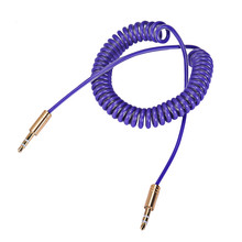 Factory Price Binmer Hot Selling 3.5mm Male to Male Aux Auxiliary Cord Stereo Audio Cable for PC Phone Car Drop Shipping