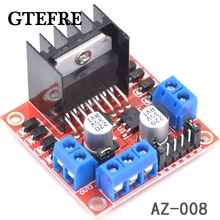 Free Shipping New Dual H Bridge DC Stepper Motor Drive Controller Board Module L298N MOTOR DRIVER(China)