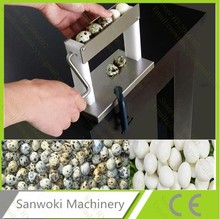 Household manual Quail eggs shelling machine; egg processing machine