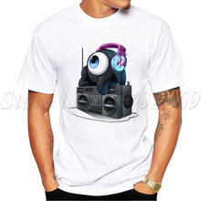 2017 Hot Sales New Fashion N3RDFUSION Neffy Alternate design Men T-shirt Short Sleeve Geek Tops Retro Radio Printed Hipster Tee(China)