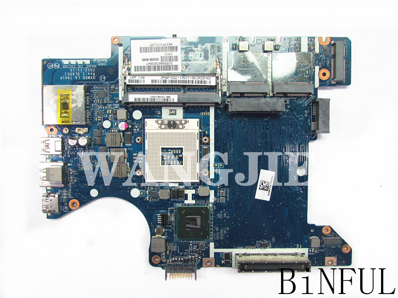 For DELL E5430 Laptop Motherboard  CN-0T7NXT 0T7NXT T7NXT QXW00 LA-7901P 100% Full Tested