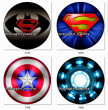 SN1343 Superhero LOGO Snap button Jewelry Charm Popper for Snap Jewelry  good quality  BLOOM