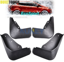 Set Mudflaps Fit for Ford Ecosport 2013-2017 Splash Guards Mud Flaps Front Rear Mudguards Fender Accessories 2014 2015 2016