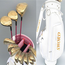 New womens Golf clubs KATANA SWORD Golf complete clubs set driver+fairway wood+irons+putter+bag Graphite Golf shaft Freeshipping(China)