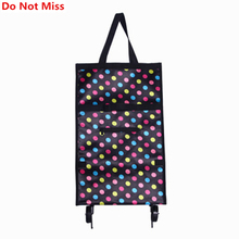 Do Not Miss New 2017 Shopping Bag Shopping Trolley Bag on Wheels Bags on Wheels Buy Vegetables Shopping Organizers Portable Bags