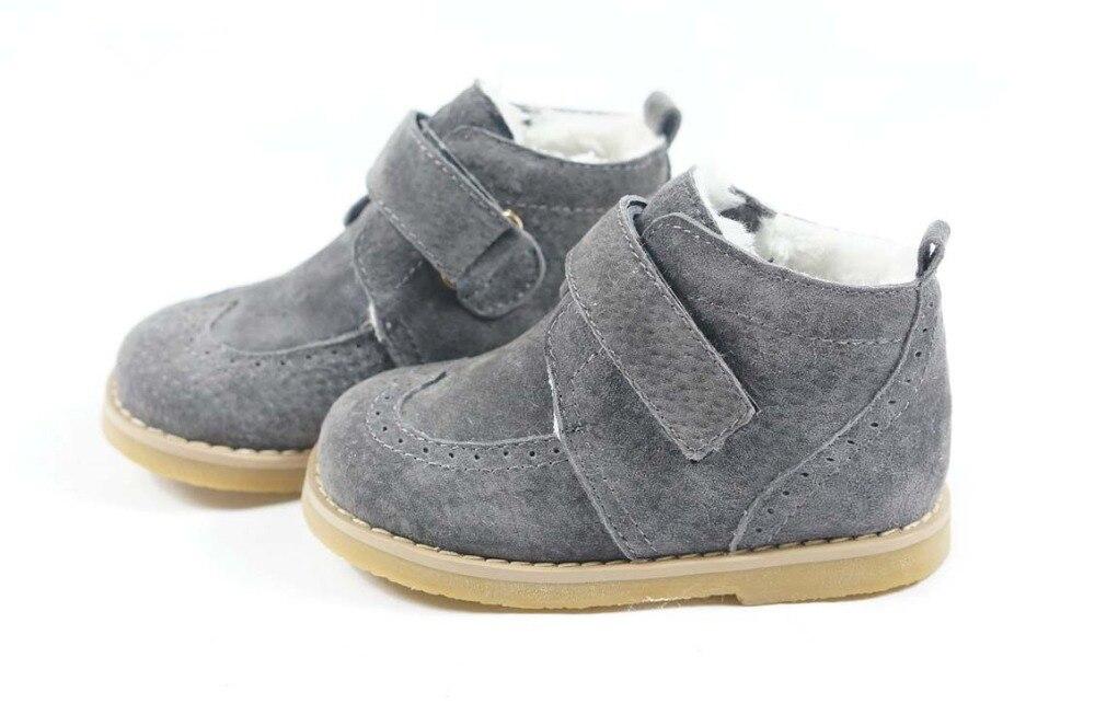 2018 Fashion Winter Newborn Winter Fur Baby Boys Shoes Warm First Walker Infants Boys Antislip Boots Childrens Shoes<br>