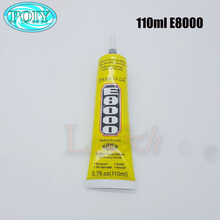 110ml E8000 Clear Adhesive Sealant Glue for DIY Diamond Clothes Shoes Paste Jewelry Craft(China)