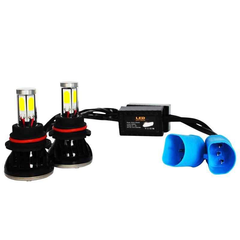 9004 LED Headlight H4 H13 9004 9007 High/Low Beam Bulb 6000K 9004 LED Headlight High Power 40W 4000LM Cob Automobile Headlight<br><br>Aliexpress