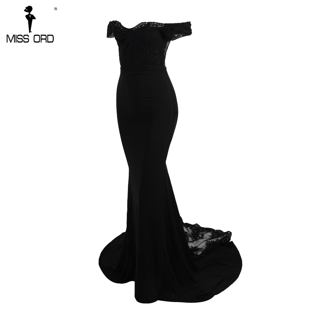 فستان سهرة  Missord جذاب مع ذيل وذو تصميم مميز 12