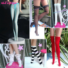 Fashion Doll Accesssories Handmade Mesh Stocking Lace Bottoms Trousers Pants Legging For Barbie Doll Clothes