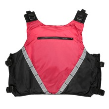 Outdoor Professional Swimwear Swimming Jackets Life Jacket Water Sport Survival Flotation Life Vest Adult with Emergency Whistle