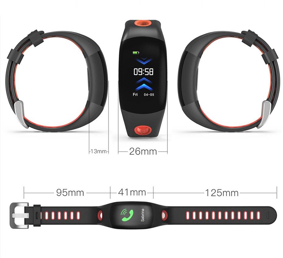 COLMI Smart band DM11 3D Dynamic UI Fitness tracker Bracelet Heart rate Monitor Wristband IP68 Waterproof 16
