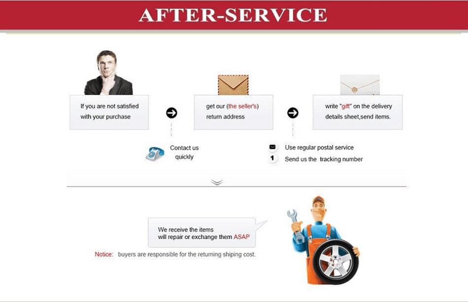 After-sale service