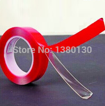 10m x 10mm Silicone Transparent Double Sided Tape Sticker For Car Accessories, High Strength No Traces Adhesive Sticker