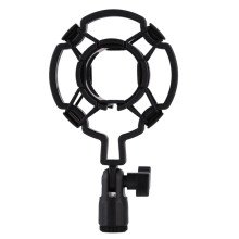 Professional Universal 3KG Bearable Load Mic Microphone Shock Mount Clip Holder Stand Radio Studio Sound Recording Bracket Black