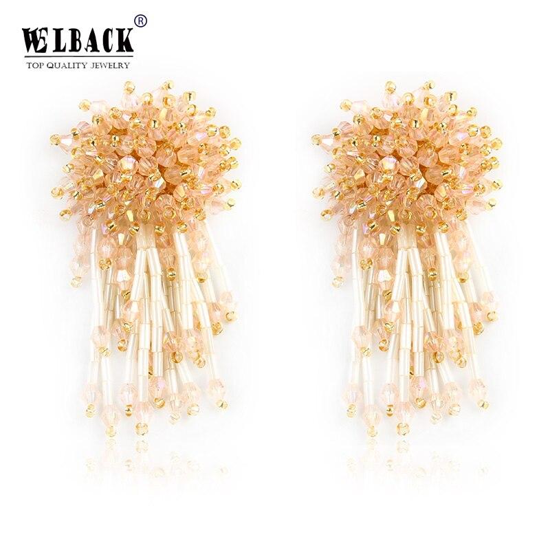Weddings & Events Bridal Headwear Novelties Mariage Decoration Simple Chrysanthemum Crystal Twisted Beads Handmade Hair Band Headband Wedding Accessories Highly Polished