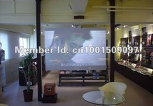 holographic lamination film screen 4.5square meter 3m x 1.5m cheaper price Free shipping