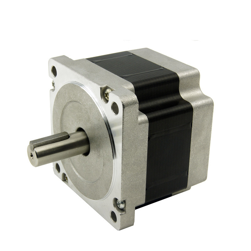 4 leads Nema34 stepper motor J86HB65-04 3.3N.m(472oz-in), 2.8A, shaft diameter 14mm, 65mm motor length engraving milling machine<br><br>Aliexpress