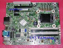 Free shipping for original 6300 Pro SFF system motherboard for 657239-001 656961-001 chipset Q75 LGA 1155  work perfect