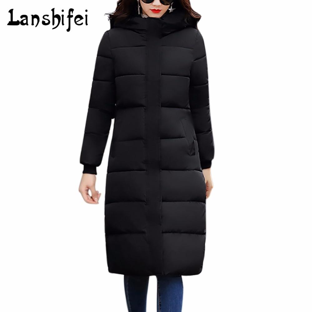 Women Winter Coat Jacket Warm Woman Parkas Female Hooded Overcoat High Quality Quilting Cotton Coat 2017 New Winter CollectionÎäåæäà è àêñåññóàðû<br><br>