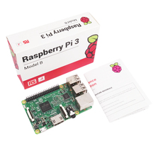 In stock original Rev.RS raspberry pi 3 model B board with wifi and bluetooth,raspberry pi 3 case,pi 3 touch screen(China)