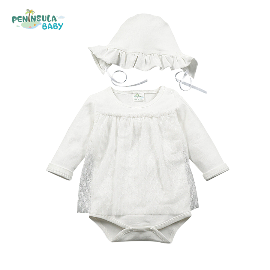 Infant Baby Girl Spring Suit Princess Costume Baby Clothing Sets Long Sleeve Cotton Lace Rompers Birthday Party Cosplay Gift<br><br>Aliexpress