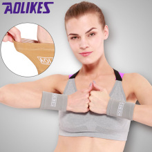 Aolikes 1Pair Sports Wrist Band Wrist Support Brace Sweatband Guard Sport Tennis Squash Badminton GYM Hand Wristband  Protector