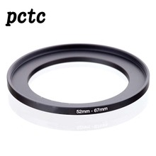 PCTC 2PCS 52mm-67mm 52 to 67 Macro Reverse Ring Filter Adapter for 52 to 67 mm lens Mount For extension tubes adapter
