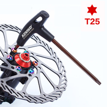 Ultralight Bicycle Brake Disc T25 Wrench RotorsTorx Head Bolt Screw T-wrench Cycling Repairing Tool ALS88