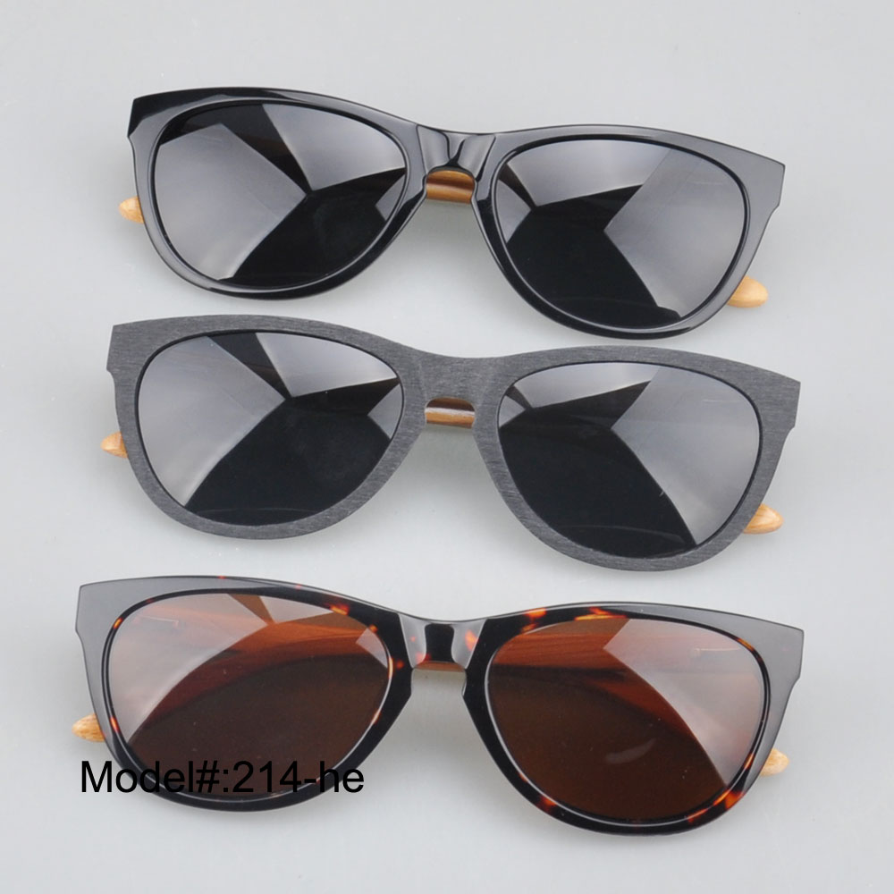 214  brand new  full rim uniex vintage sunglasses with bamboo temple UVB UVA sunshade<br><br>Aliexpress