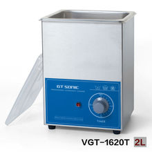 2L ultrasonic washing machine with timer GT SONIC VGT-1620T brush watch jewelry eyeglasses cleaner(China)