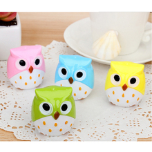 Pencil For Sharpener Lovely Kawaii Owl Cutter Knife For Buffets For Christmas Pupil Prizes Promotional Gift Stationery(China)