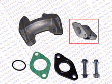 19MM Intake Manifold Kit with Gasket 50CC 70CC 90CC 110CC ATV Quad Taotao Kaya Apollo Lifan Sunl Dirt Pit Bike Parts(China)