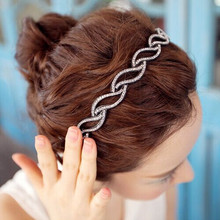 New Wave Quality Full CZ Beads Hairbands Hair Combs Fashion Jewelry Hair Accessories