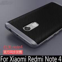 Hybrid case For xiaomi redmi note 4 hard PC frame+Silicon Protective back cover for Xiaomi Redmi Note 4 Pro Prime phone housing(China)