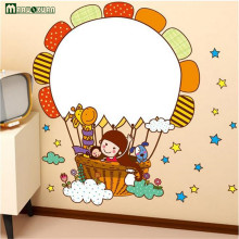 Creative Removable Wall Sticker Dandelion Whiteboard Sticker Kids Room Bedroom Backdrop Wall Stickers Wall Decorations(China)
