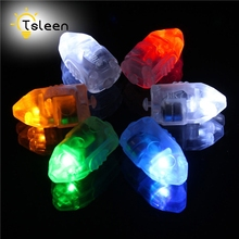 TSLEEN 12PCS Colorful Mini LED Balloon Lights for Paper Lantern Balloon Light Lamp Christmas Wedding Party Decoration Decoration(China)