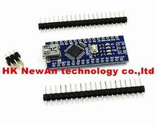 Hot sell Cheap! Nano 3.0 controller compatible with arduino nano CH340 USB driver NO CABLE NANO V3.0(China)