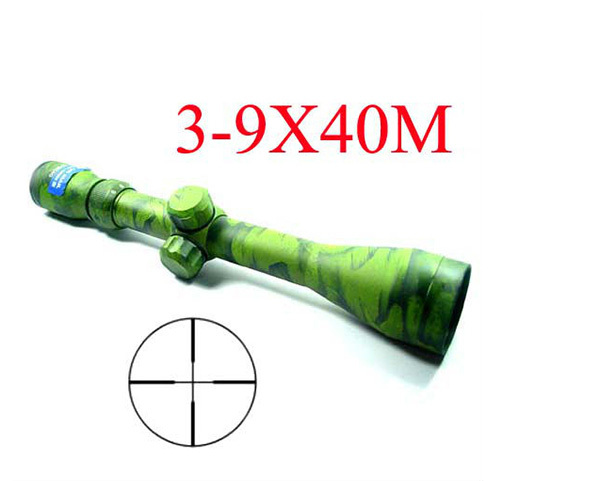 caza Hunting 3-9x40M Colored Crosshair Hunting Rifle Scope Outdoor hunting scopes<br><br>Aliexpress