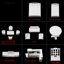 DIY sand table model material/model furniture bathroom cabinet technology model parts/DIY toy accessories