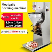 SJ-28 Meatballs  roll forming machine that makes the meat beef pork fish balls making machine 1100W
