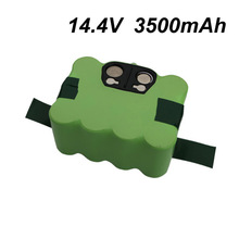 14.4V 3500mAh SC Ni-MH battery Vacuum Sweeping Cleaner Robot for KV8 XR210 XR510 XR210A XR210B XR210C XR510A XR510B XR510C 510D(China)