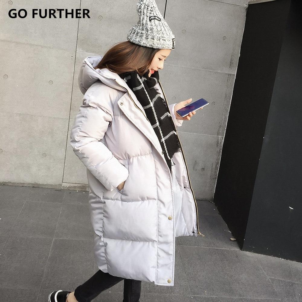 2017 Winter winter jacket women coat female medium-long winter thickening bread cotton-padded jacket outerwear parka Îäåæäà è àêñåññóàðû<br><br>