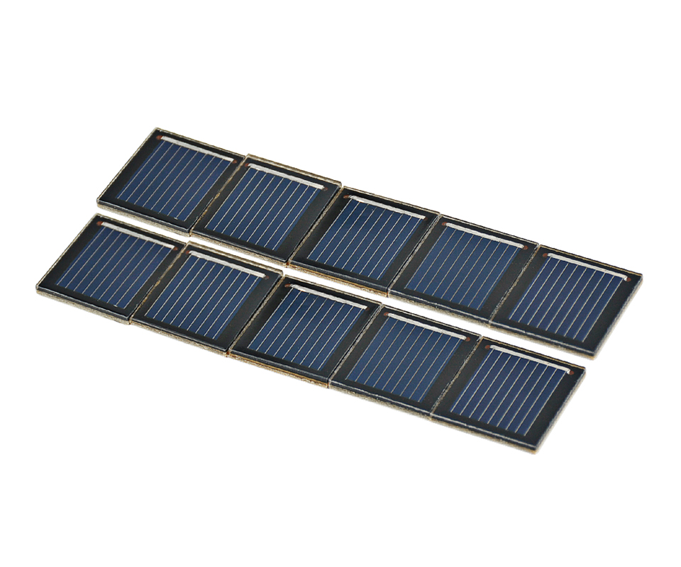 Aoshike pcs 0.5V 80MA polycrystalline silicon solar cell panel DIY technology Small production material 6