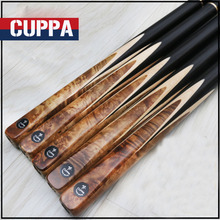 New Handmade Cuppa 3/4 Snooker Cue Stick Billiards 9.8mm Tips 3 4 Snooker Cues Case Set China