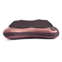 Massage Pillow Home Car Dual-use Multifunction Massager Auto Massage Pillow Cervical Lumbar Leg Neck Massager Infrared Heating